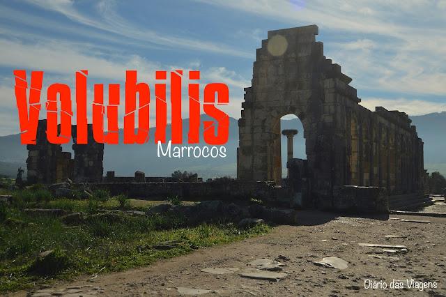 Visitar Volubilis, Marrocos