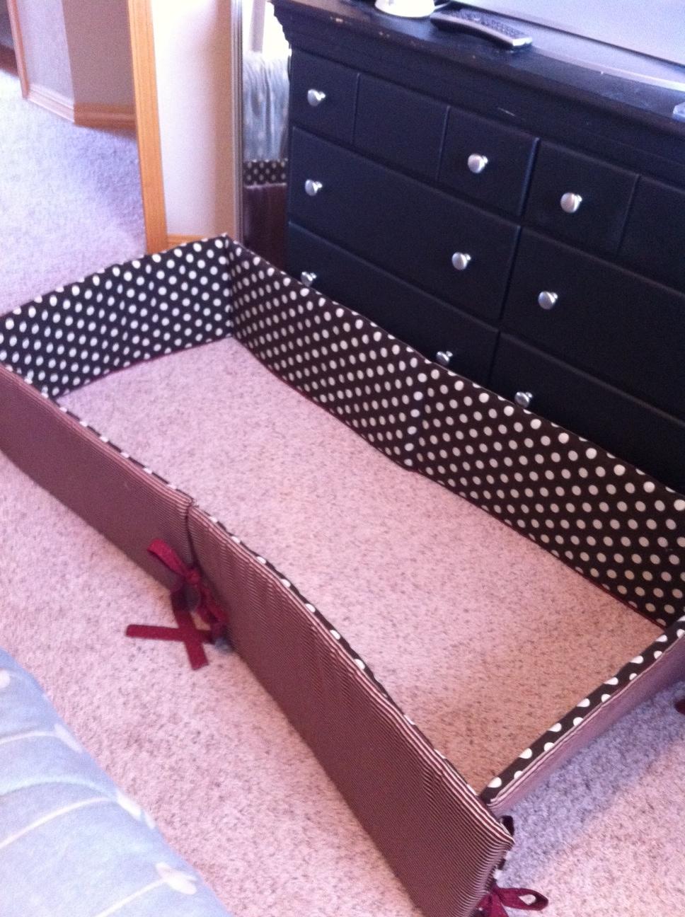 Sean and Nicole: DIY crib bedding