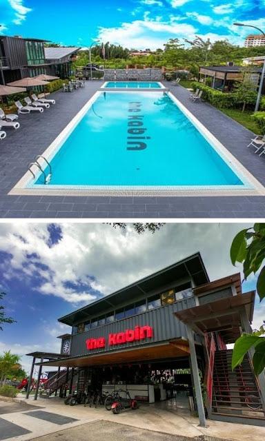 The Kabin swimming pool