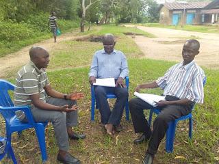 Séance d'évaluation des superviseurs après la formation  CPT / Kasongo-Lunda