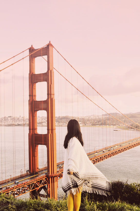 San Francisco Bucket List - snap a postcard-worthy photo of the Golden Gate Bridge at Battery Spencer