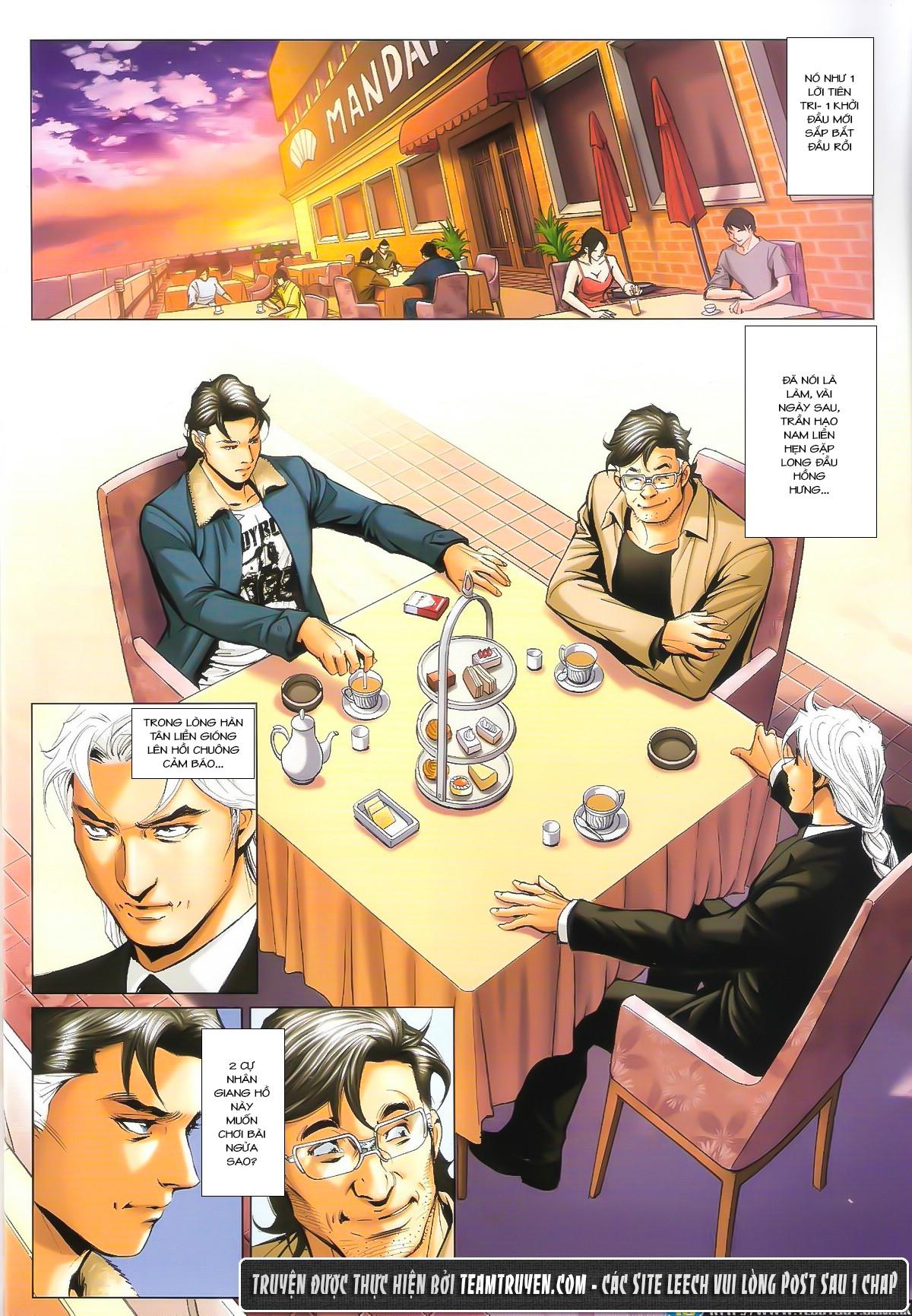 Người Trong Giang Hồ chapter 1602: gặp lại hàn tân trang 7