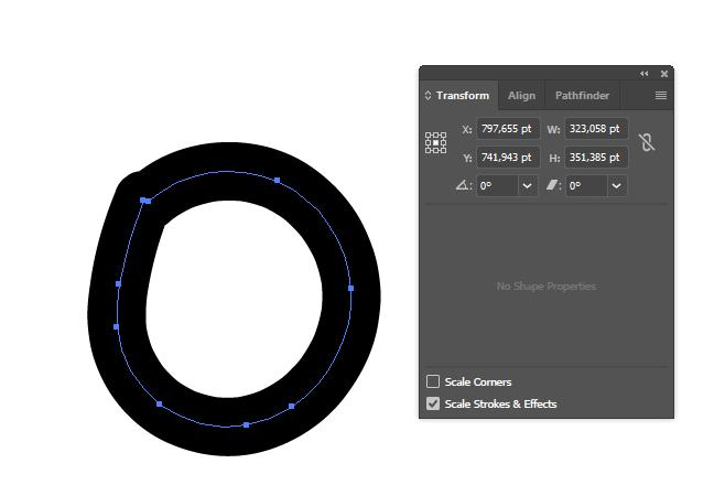 Изменение масштаба в Illustrator