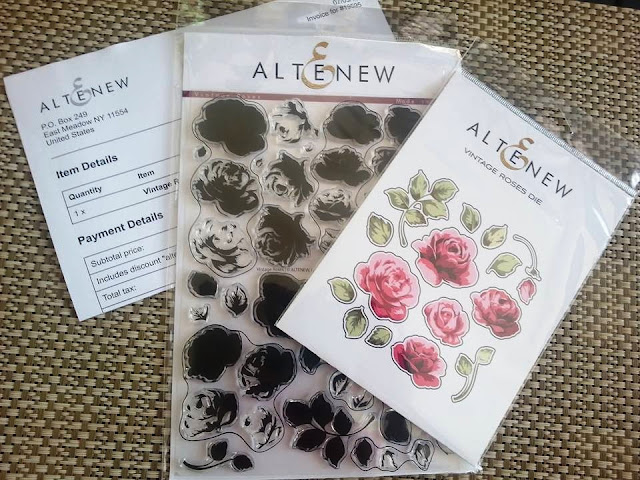 Vintage Roses by Altenew