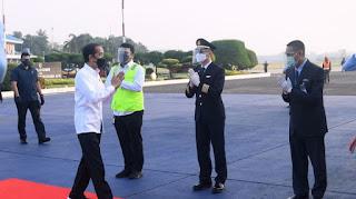 Bertolak ke Purbalingga Gunakan Pesawat ATR, Presiden Akan Tinjau Bandara Soedirman