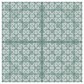 A simple pattern with Fibonacci number.