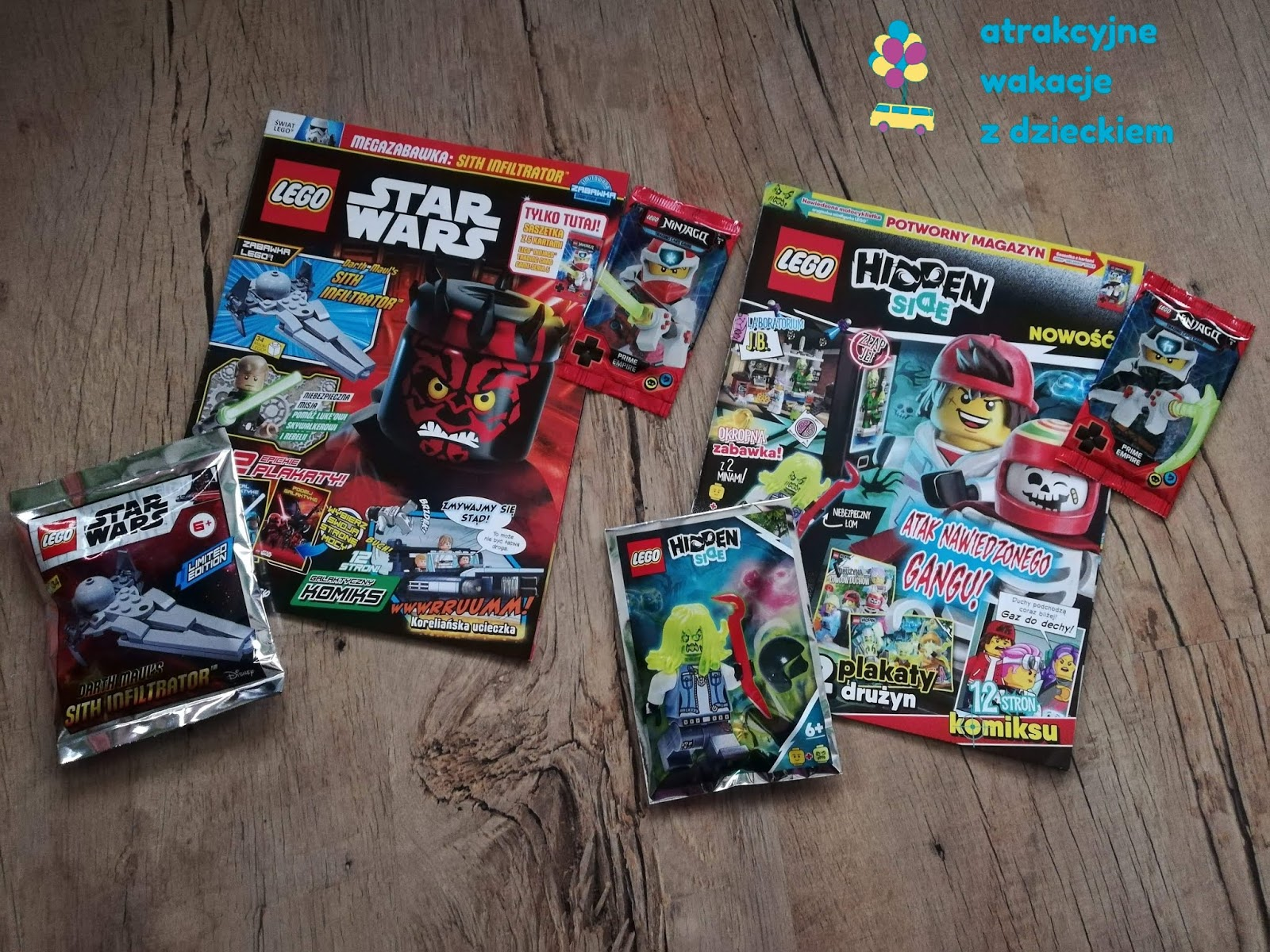 LEGO minifigurki LEGO
