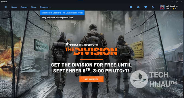 Masa Berlaku Game Tom Clancy's The Division PC Gratis