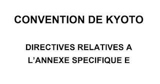 CONVENTION DE KYOTO  DIRECTIVES RELATIVES A L'ANNEXE SPÉCIFIQUE PDF