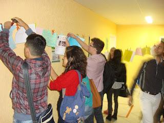 Direito e Cinema: estudantes de Direito do UNIFESO participaram de um mural de ideias