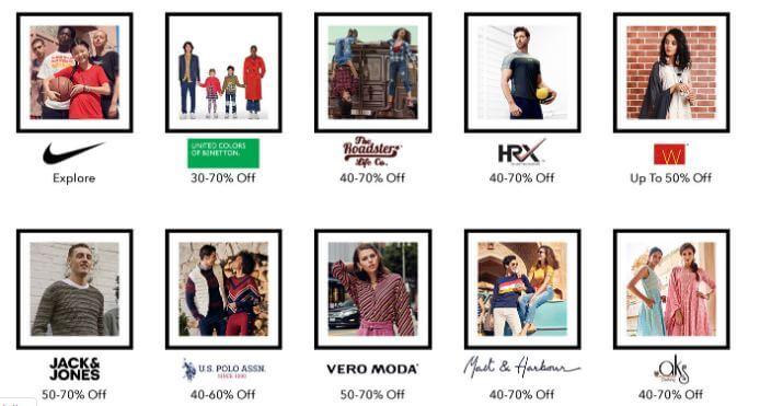 50-80% OFF in Myntra on Big Fashion Days 2019