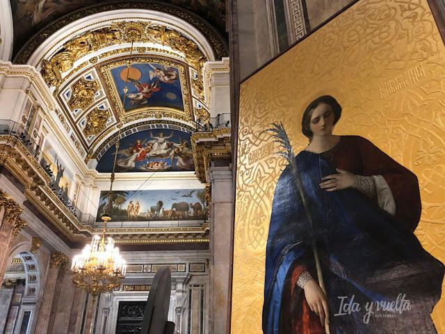 Catedral San Isaac San Petersburgo mosaicos