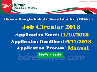 BBAL Captain Dash 8 Q400 Recruitment Circular 2018