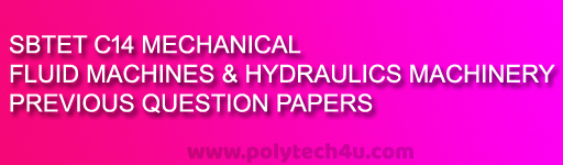 C14-M-405-FLUID MACHINES AND HYDROLIC MACHINERY PREVIOUS QUESTION PAPERS PDF DOWNLOAD