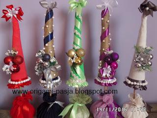 handmade, rękodzieło, wstążka, krepa włoska, sznurek, święta,