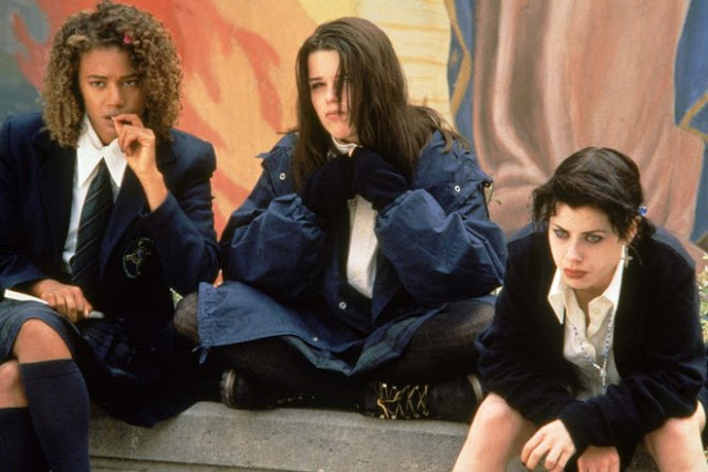 Rachel True, Neve Campbell, and Fairuza Balk in The Craft