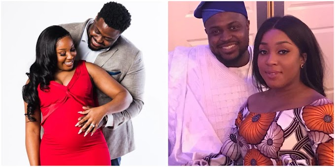 Davido's Senoir brother excited as he welcomes cute baby girl with wife