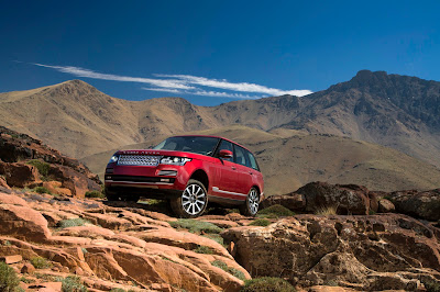 New Range Rover in Morocco: All Photos Part 1 Exterior