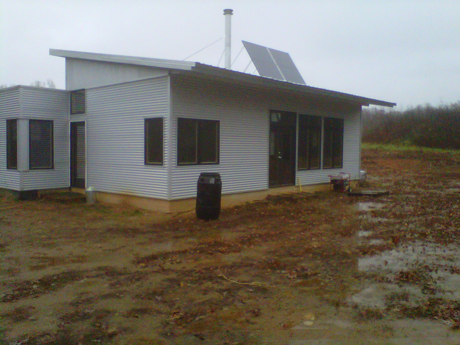 Passive Solar Design Of Off Grid Prefab House Keeps Us