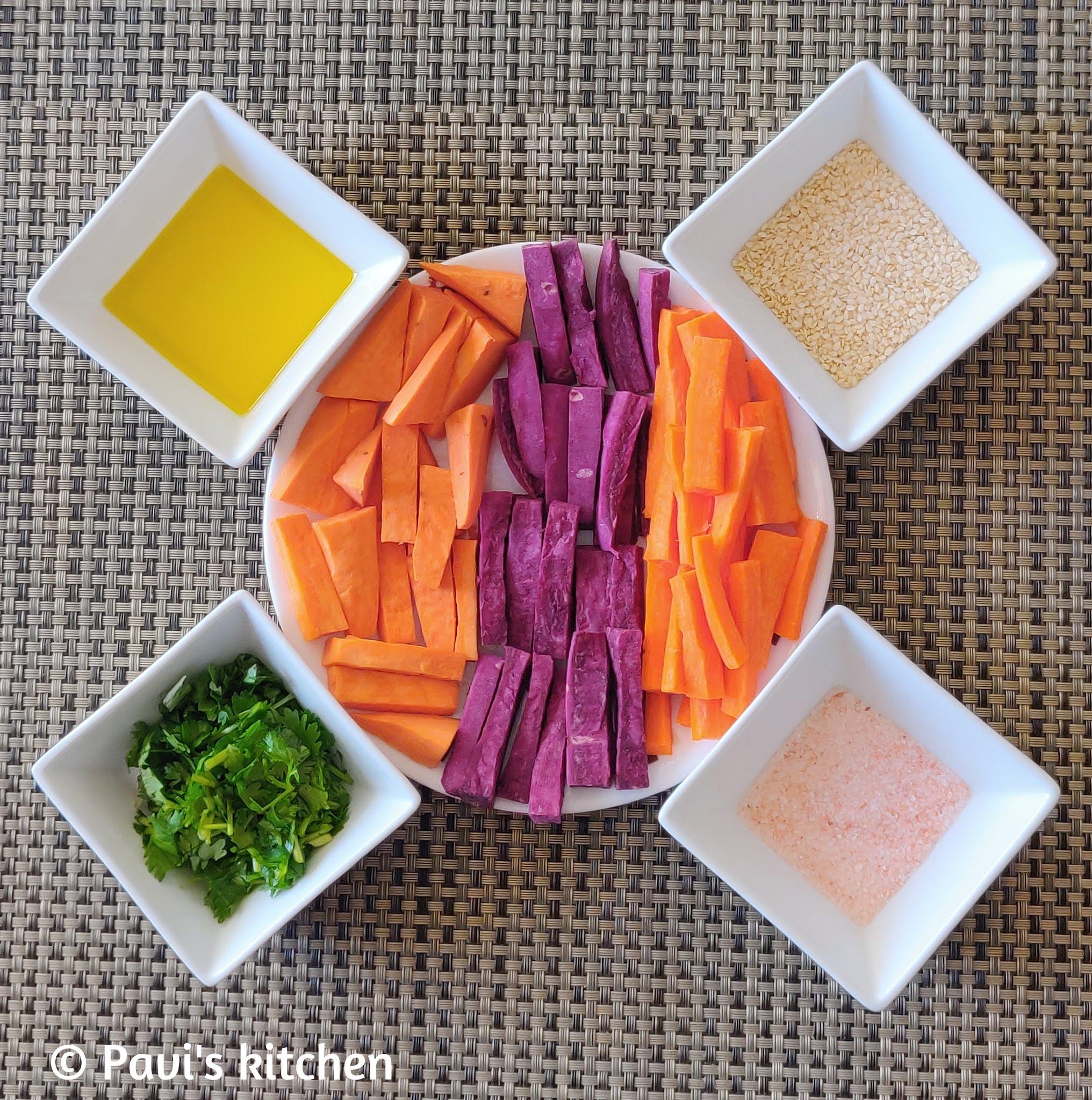 Sweet potato salad recipe | Indian sweet potato salad | grilled sweet potato salad