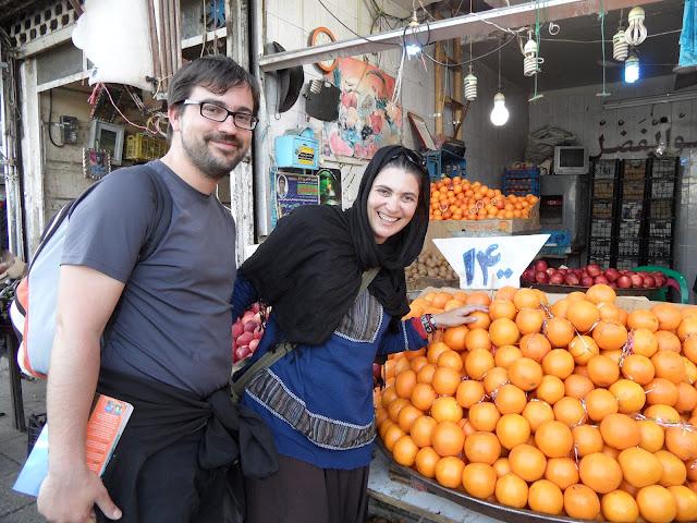 VISTO DO IRÃO à chegada no aeroporto de Teerão | Os habitantes do país das laranjas chegam ao Irão