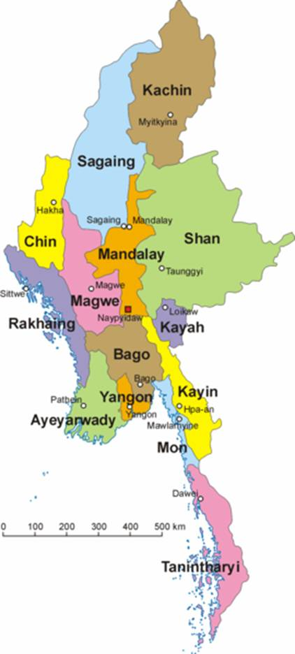 Asian cooperation in myanmar regional