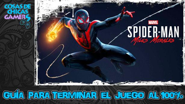 Guía Marvel Spiderman Miles Morales para completar el juego al 100%