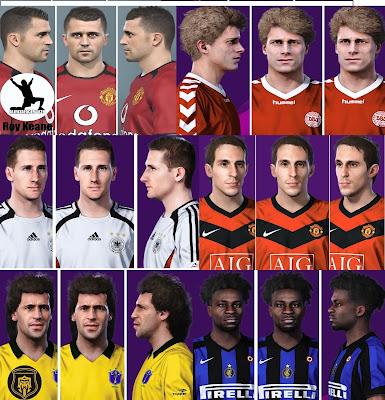 PES 2021 Facepack Legends by Alireza
