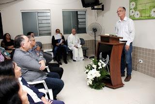 Prefeito Nilton Hirota prestigia Culto Ecumênico em celebração ao aniversário do Hospital São João