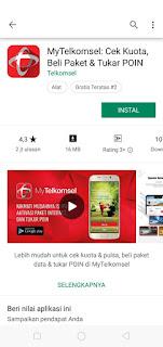 Cara Mendapatkan Paket Internet Murah Telkomsel 17 GB + 300 menit Nelpon dan Juga 400 SMS Dengan Biaya Rp.80.000