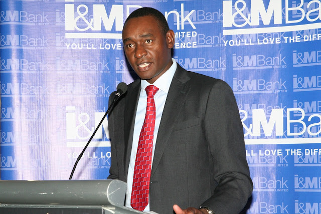 Kihara Maina,CEO I&M Bank Kenya