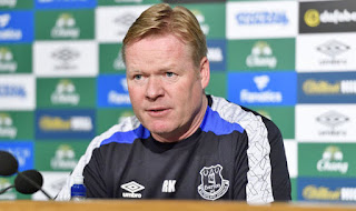 Everton Ancam Posisi Manchester United di Klasemen Liga Inggris