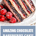 Amazing Chocolate Raspberry Cake