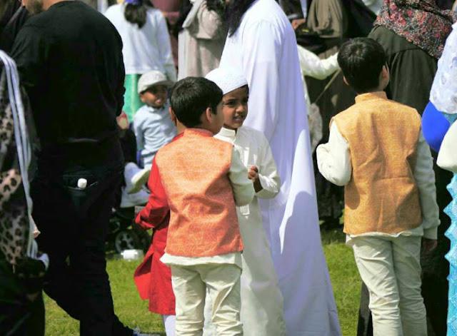 Idul Fitri di Birmingham Inggris