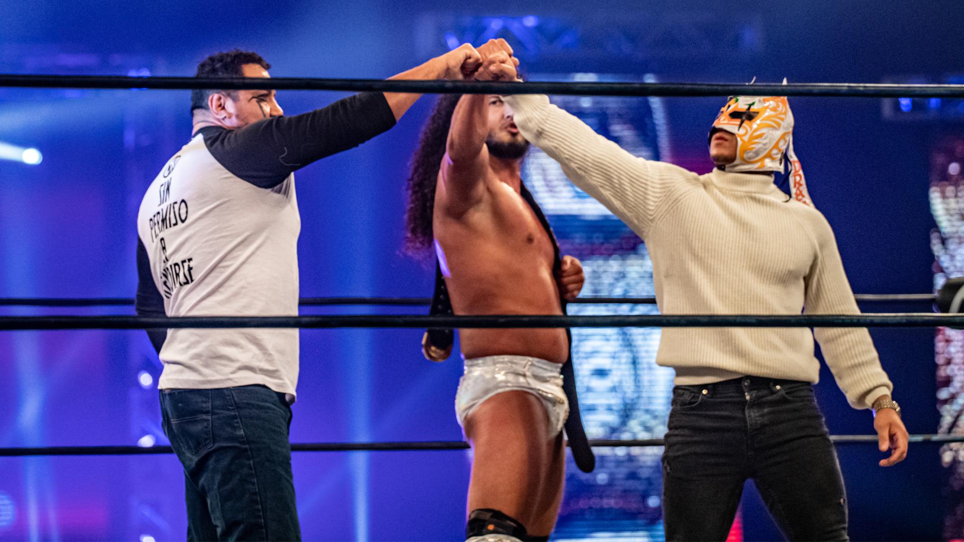 RUSH e Dragon Lee renovam com a ROH