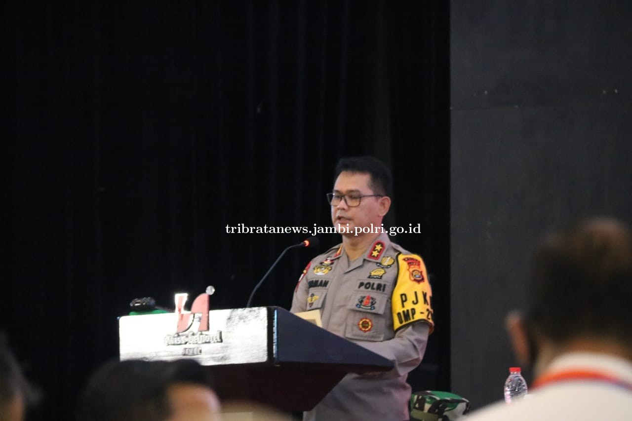 Kapolda Jambi Himbai Personil TNI / POLRI untuk tetap Netral dalam Pilkada