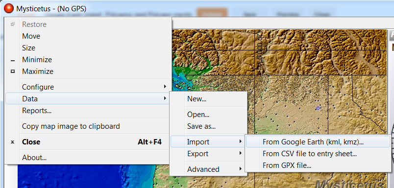 Google Earth Import, Polygons (and Polygon member functions), and