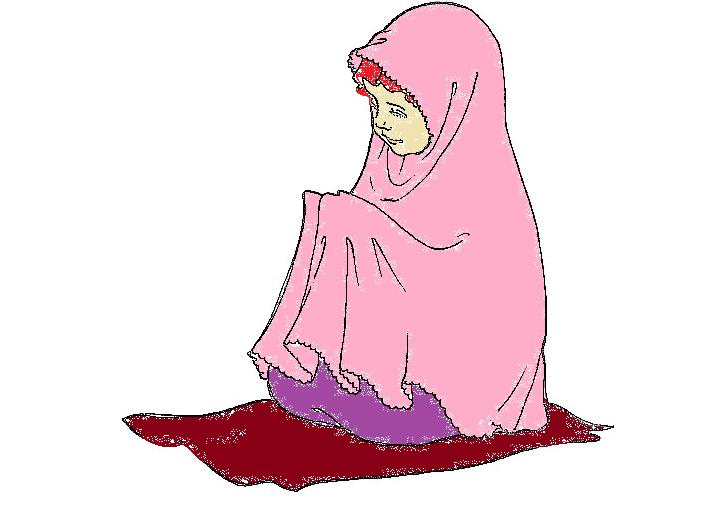 Wallpaper Gambar Kartun Muslimah Keren Terbaru
