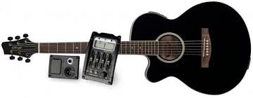 Đàn guitar Acoustic Stagg SW206CETU-BK Màu đen giá 3,5 triệu