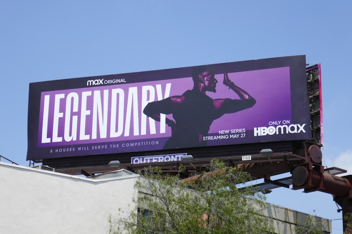 Legendary HBO Max season 1 billboard