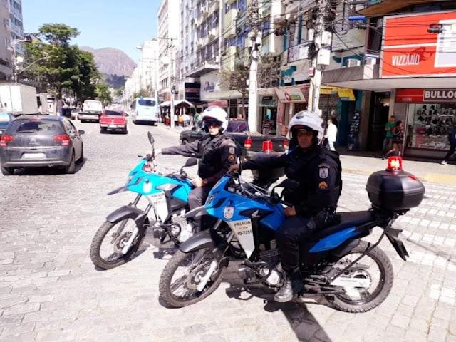 11º BPM recebe mais oito motos para patrulhamento em Nova Friburgo