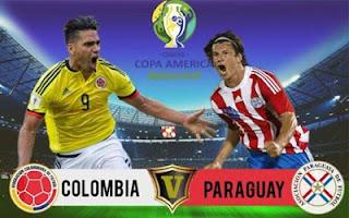 مباراة كولومبيا وباراجواي بث مباشر اليوم 23-6-2019 في كوبا امريكا 2019