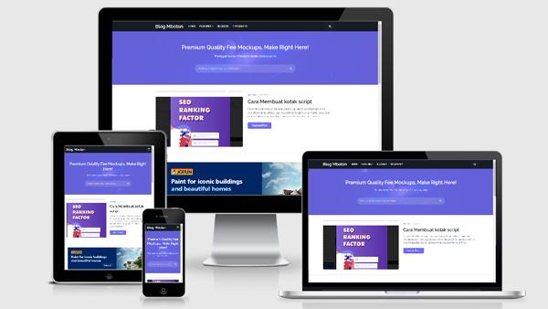 Freebify - Responsive Blogger Template Premium Free