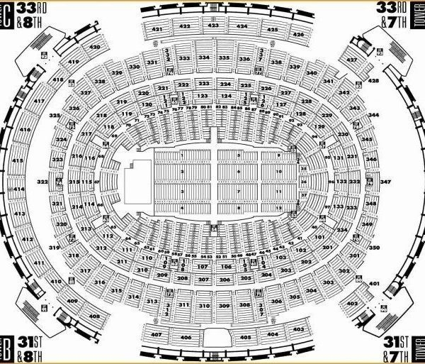 Lovely Madison Square Garden Seating Chart Concert