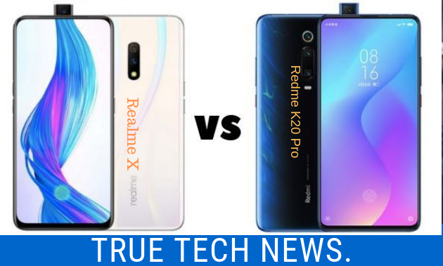 Redmi K20_Vs_Realme X_Comparison_Specs_Feature_images_photos_picture_Price_in_India.