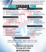Walk In Interview at Sinar Shaladin Semesta Surabaya Agustus 2020