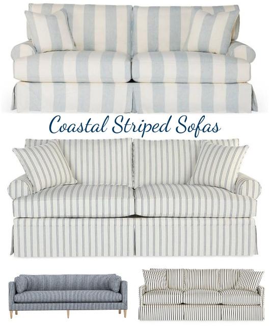 Coastal Striped Sofas One Kings Lane