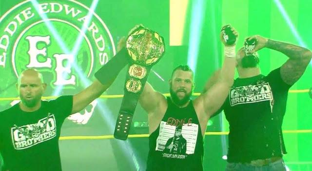 Eddie Edwards nuevo campeón mundial de Impact. Deonna Purrazzo y Chris Bey también se impusieron en Slammiversary