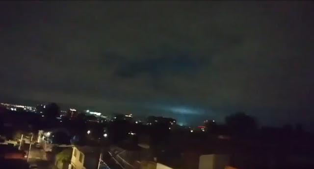 ¿Por qué se vieron destellos en el cielo durante el sismo de esta noche?