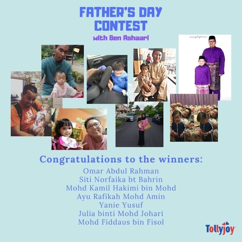 Aku Menang Hadiah Father's Day Contest !